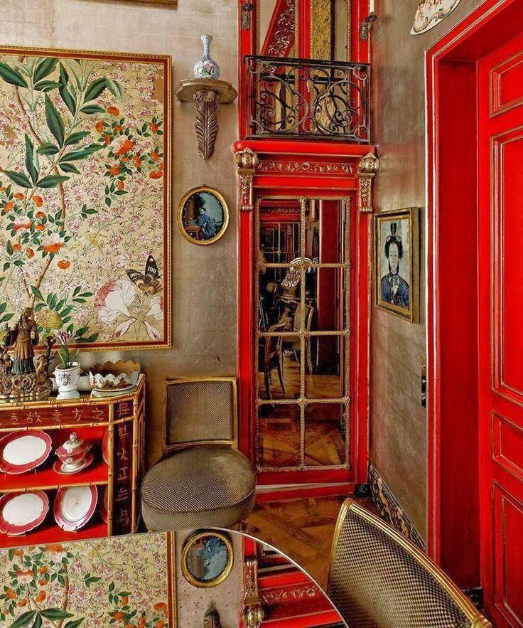 rot die sinnlichste wohnfarbe sweet home. Black Bedroom Furniture Sets. Home Design Ideas