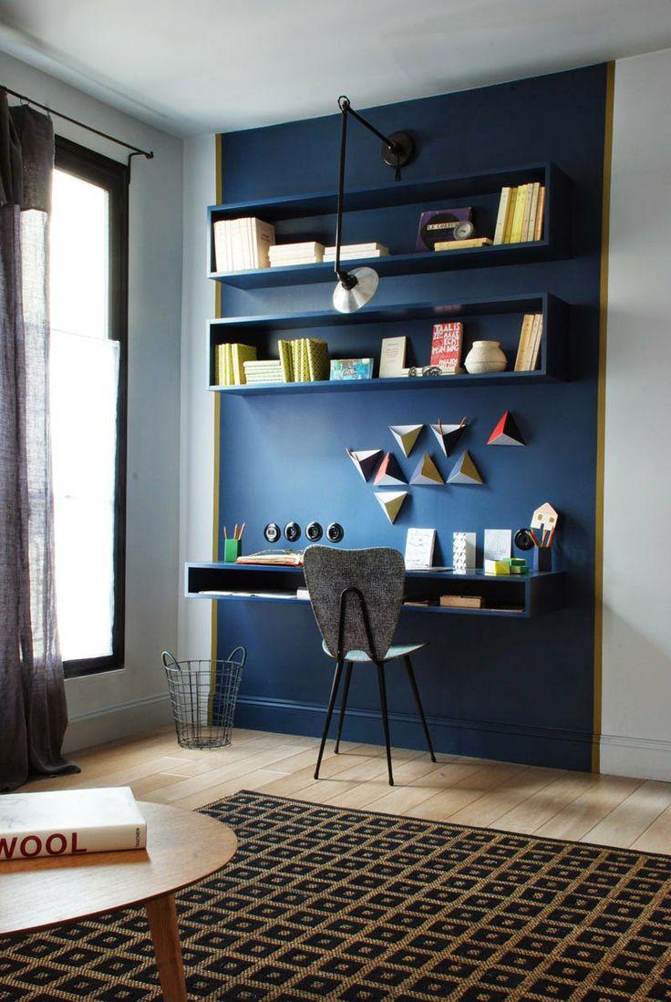 Arbeitsplätze Mitten In Der Wohnung | Sweet Home Schlafzimmer Und Arbeitszimmer In Einem Raum