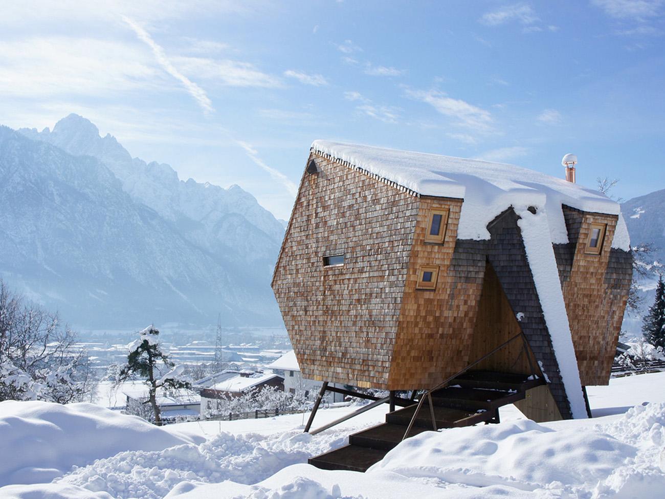 Sterreichisches ferienhaus auf stelzen sweet home for Ch homes