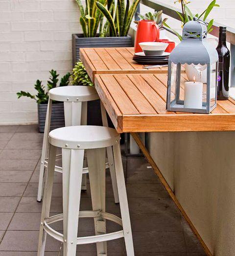 Klapptisch balkongeländer  12 erstklassige Balkonideen | Sweet Home
