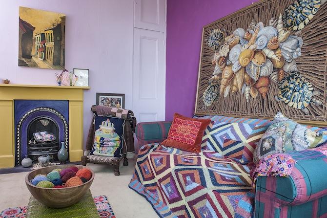 Hier wohnt ein weltberühmter Textildesigner | Sweet Home