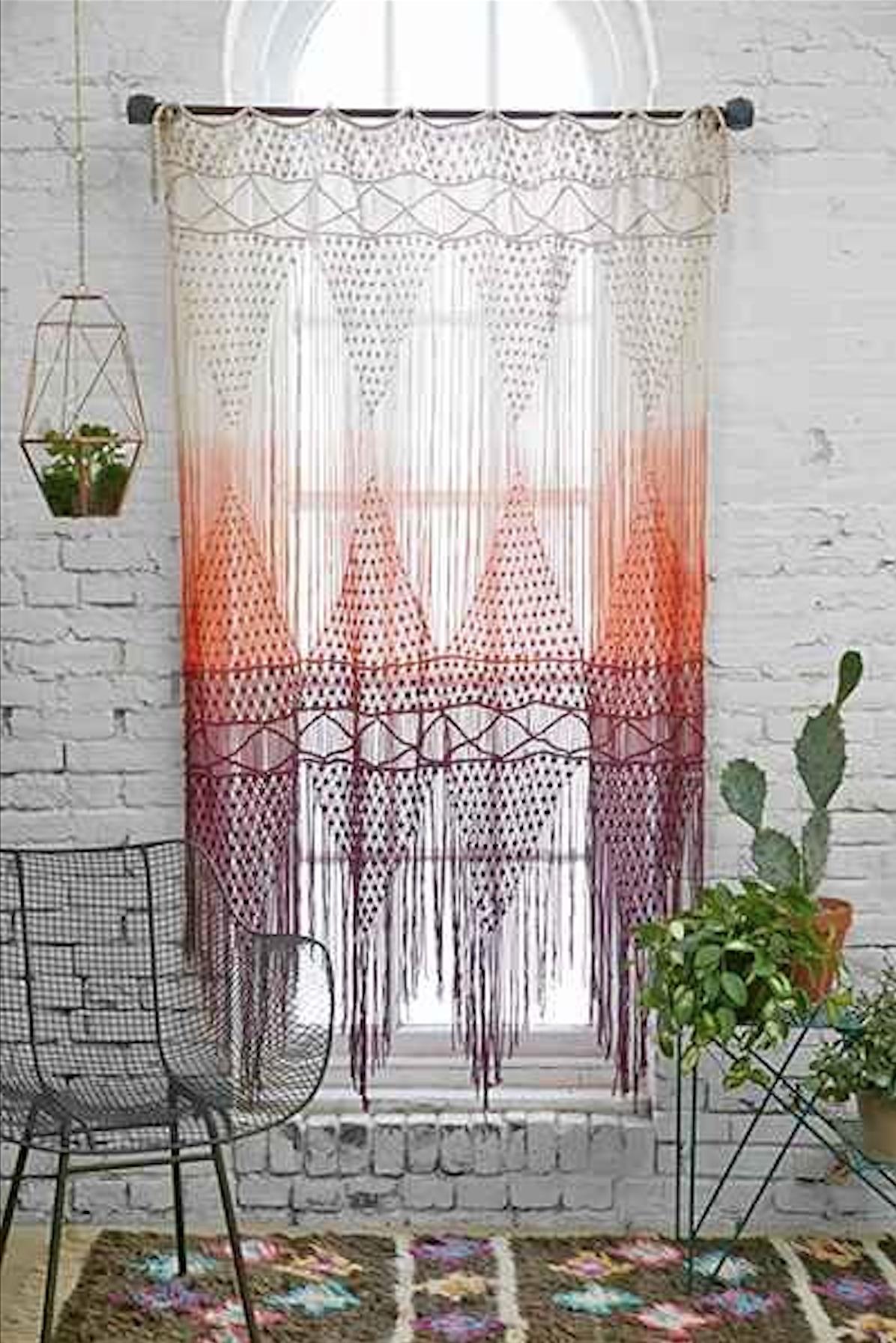 Der hippiestil der wieder voll im trend ist sweet home - Makramee wandbehang ...