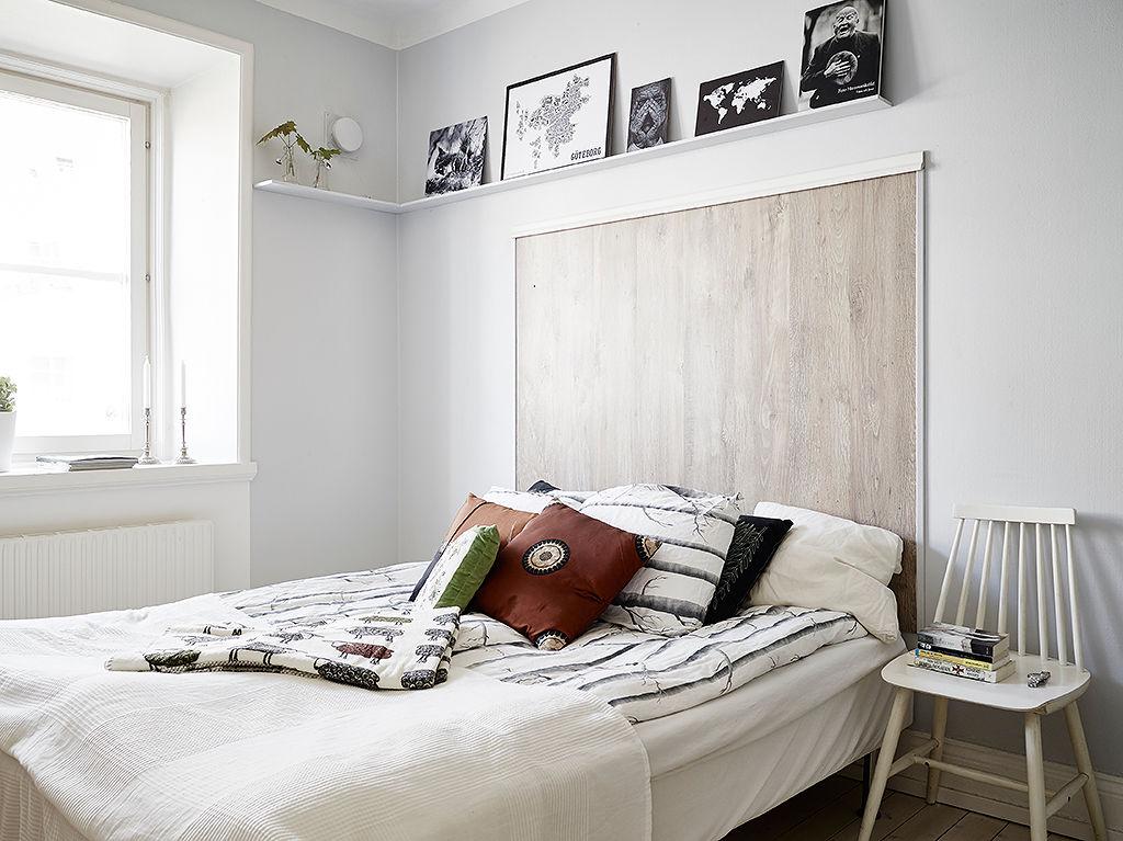 Betten mit hintergrund sweet home for Eine wand farbig
