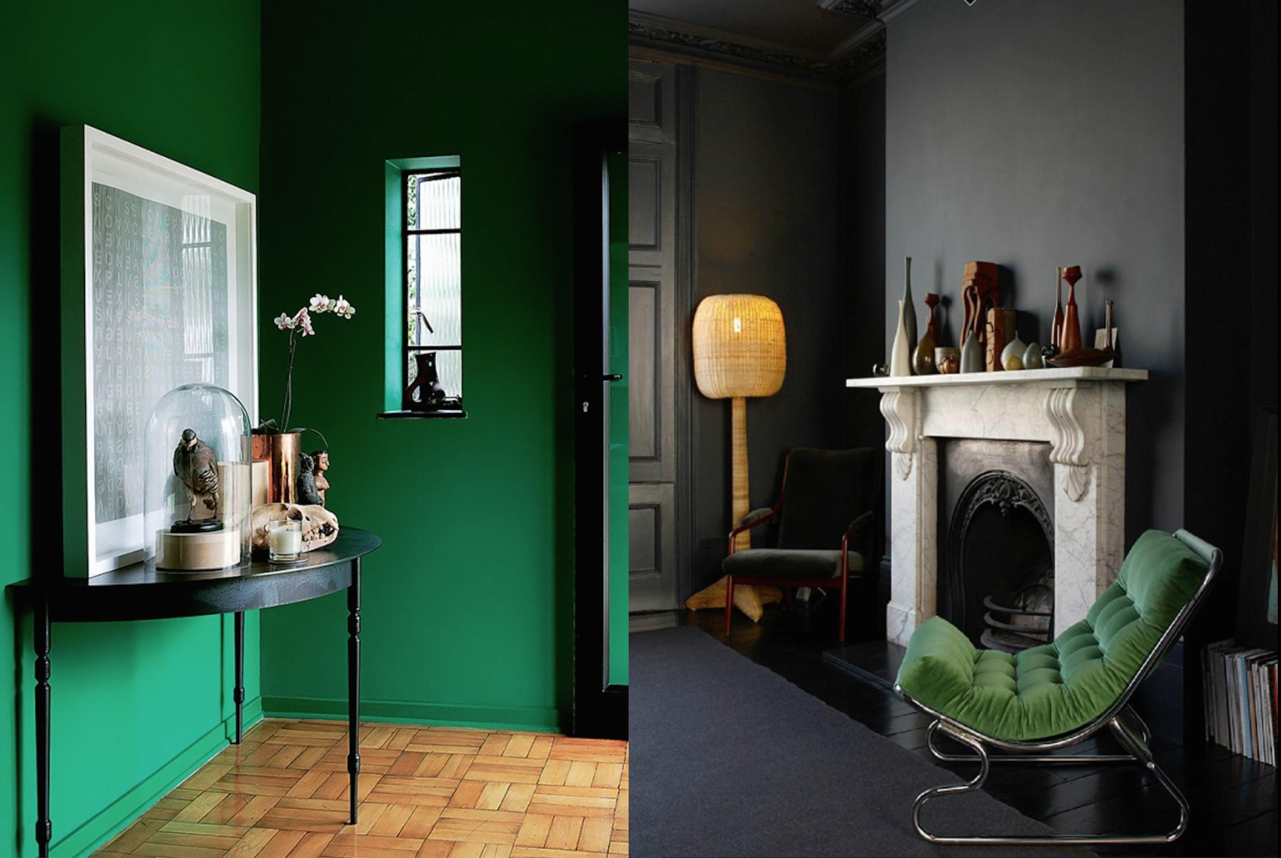 Schöne Wandfarben smaragdgrün die schönste neue wohnfarbe home
