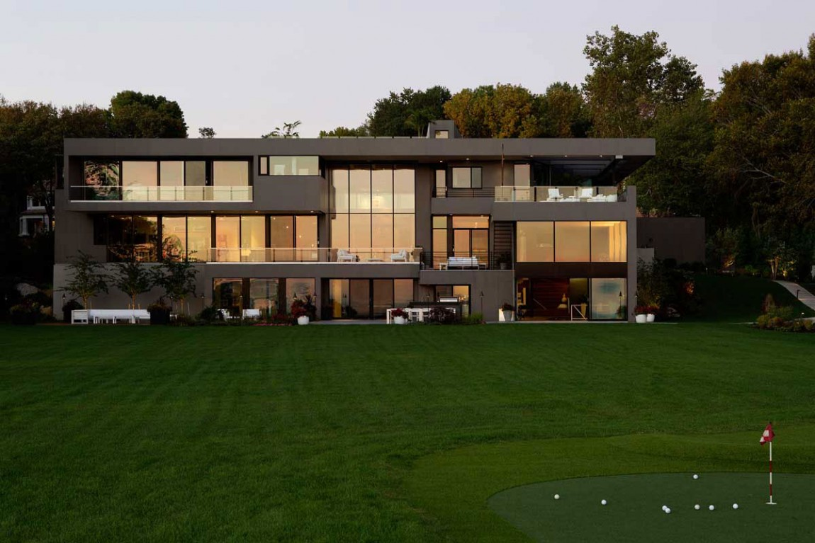 Moderne mansion am meer sweet home for Ch homes