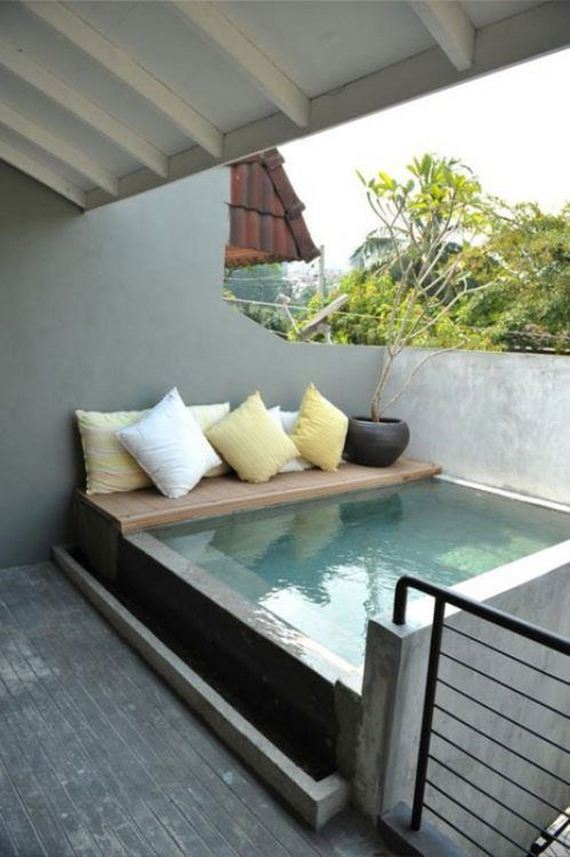 Kleine pools zum verlieben sweet home for Ideas para terrazas baratas