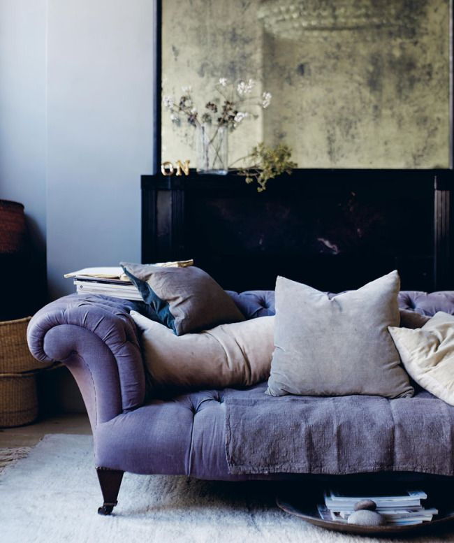Sinnliches mitternachtsblau sweet home for Home sweet home sofa