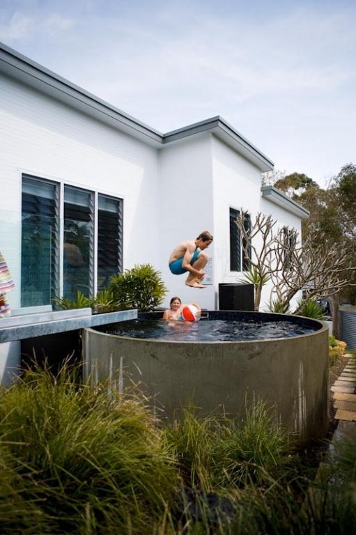 Kleine pools zum verlieben sweet home - Minipiscinas para terrazas ...