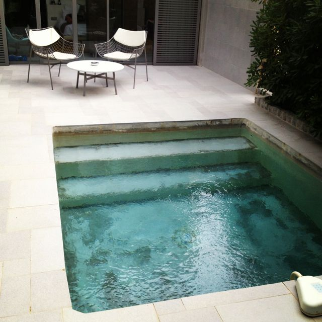 Kleine pools zum verlieben sweet home for Plunge pool design uk