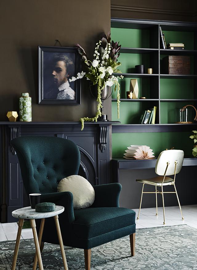 smaragdgr n die sch nste neue wohnfarbe sweet home. Black Bedroom Furniture Sets. Home Design Ideas