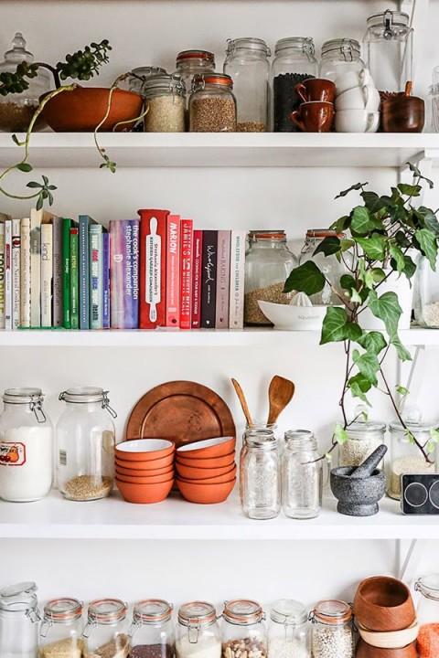 Damit Sieht Die Küche Sofort Anders Und Viel Persönlicher Aus, Und Es  Lassen Sich Erst Noch Einfach Dinge An Die Wand Zeichnen Oder Montieren.