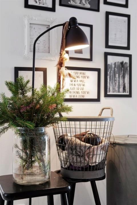 gr ne weihnachten sweet home. Black Bedroom Furniture Sets. Home Design Ideas