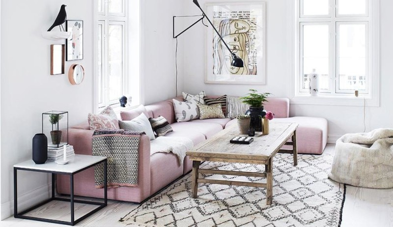 Pink Black And Gold Womens Rooms Ideas