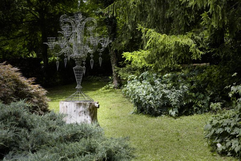 Sweet Home bei Werner Müller, Rost + Gold, ©Rita Palanikumar