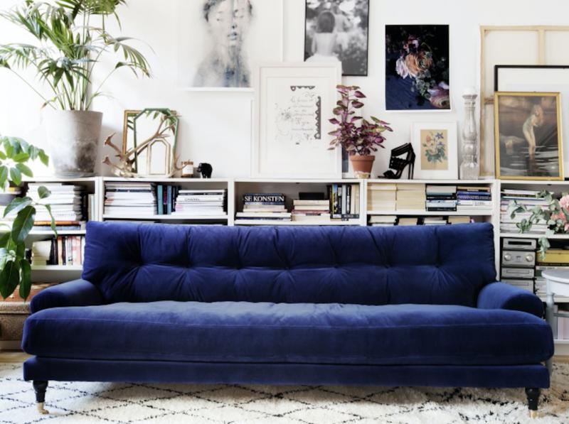 Ausflug ins blaue sweet home Was passt zu braunem sofa