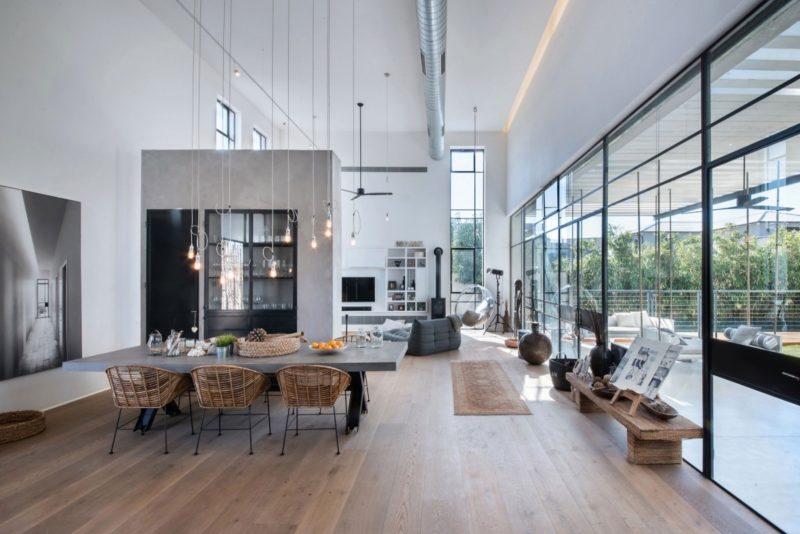 industrieller loftstil f r die villa sweet home. Black Bedroom Furniture Sets. Home Design Ideas