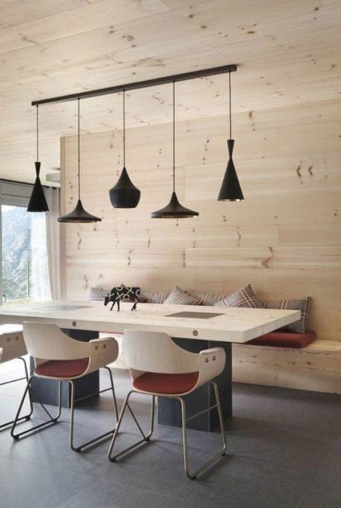 Holz in der Hütte