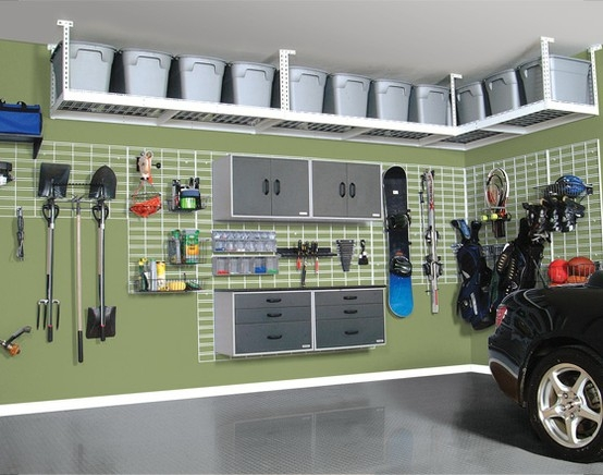 Wochenendprojekt 10 ideen f r garagen sweet home for Diy 3 car garage