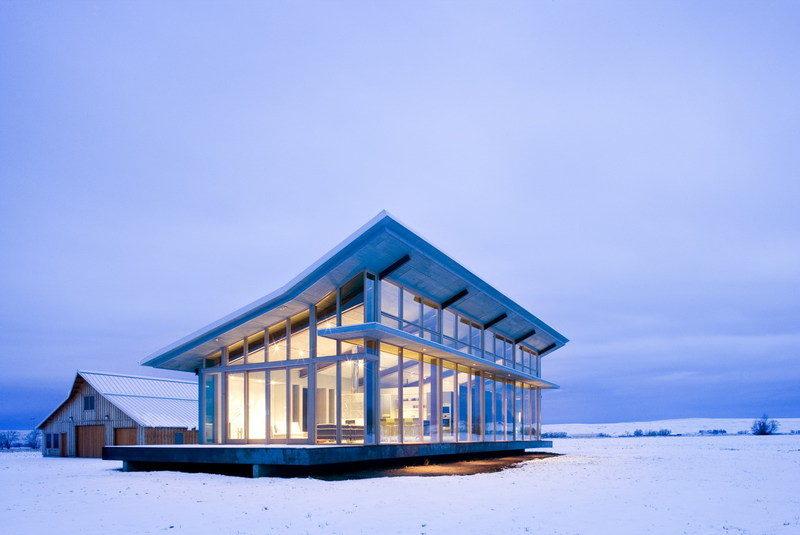 Ein Bauernhaus Aus Stahl Und Glas Sweet Home