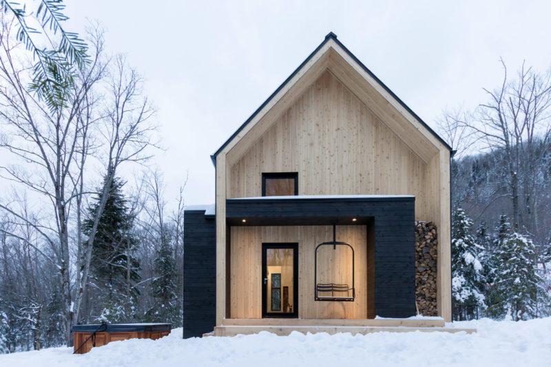 Architektur Ferienhäuser skandinavisches ferienhaus in kanada