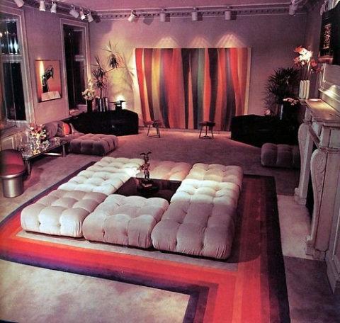 wohnen wie in den seventies sweet home. Black Bedroom Furniture Sets. Home Design Ideas