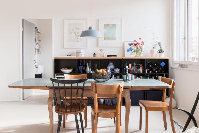 Eine z rcher wohngeschichte for Wohnung tisch