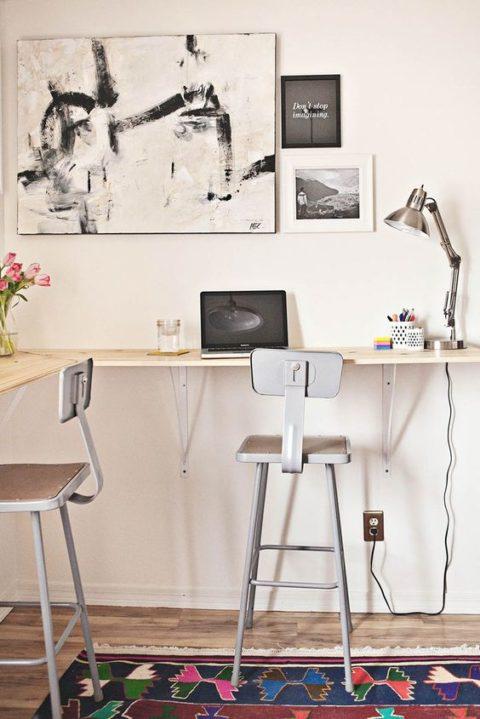 die bar zu hause - Designer Arbeitstisch Tolle Idee Platz Sparen