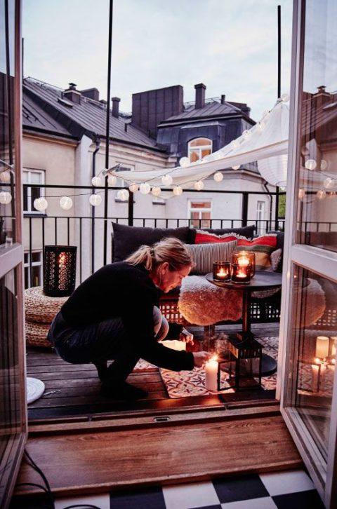 15 ideen f r den allersch nsten balkon. Black Bedroom Furniture Sets. Home Design Ideas
