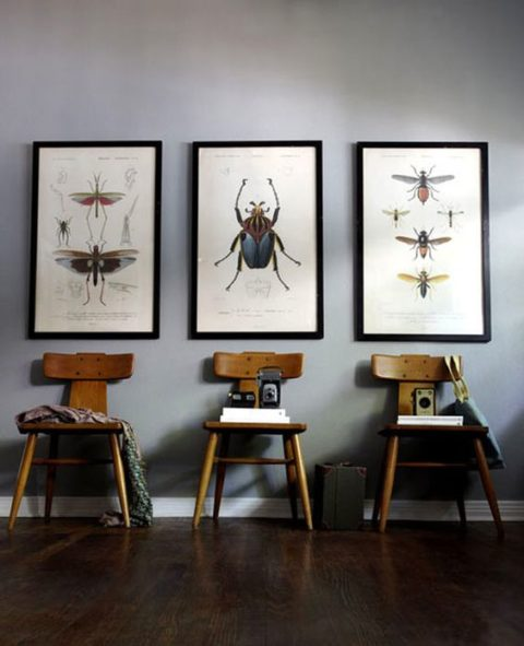 so geht wohnen mit grossen bildern. Black Bedroom Furniture Sets. Home Design Ideas
