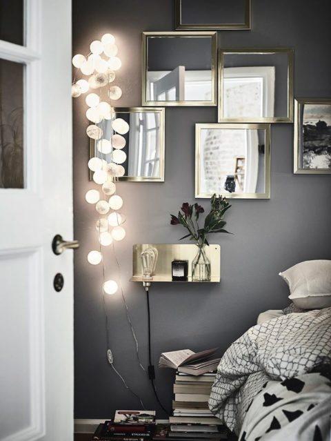 Da Grau Eine Neutrale Farbe Ist, Passt Sie Zu Ganz Unterschiedlichen  Wohnstilen. Als Wandfarbe Frischt Grau Zum Beispiel Eine Improvisierte  Wohnung Auf Und ...