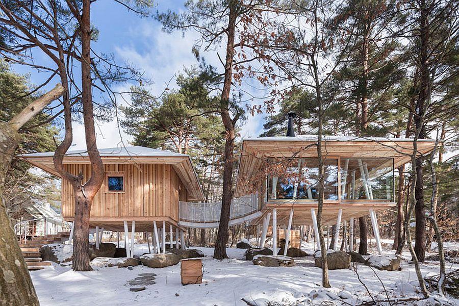 Holzhaus auf stelzen sweet home for Asia style wohnen