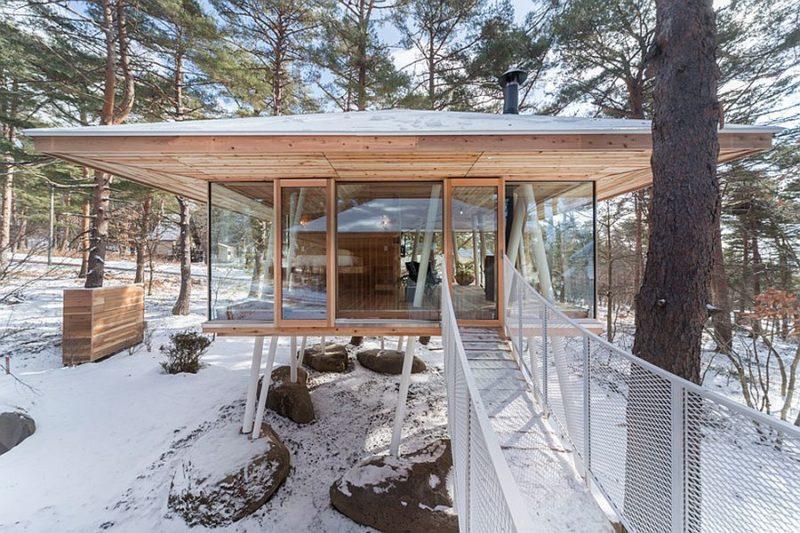 Holzhaus Auf Stelzen Sweet Home