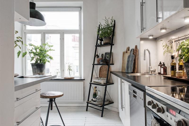 Ein Ausstellungsplatz In Der Küche