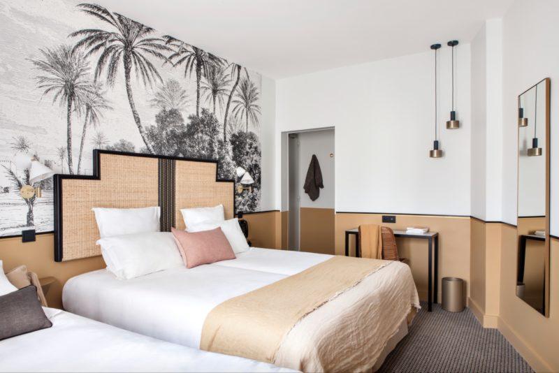 die oase im 17 arrondissement. Black Bedroom Furniture Sets. Home Design Ideas