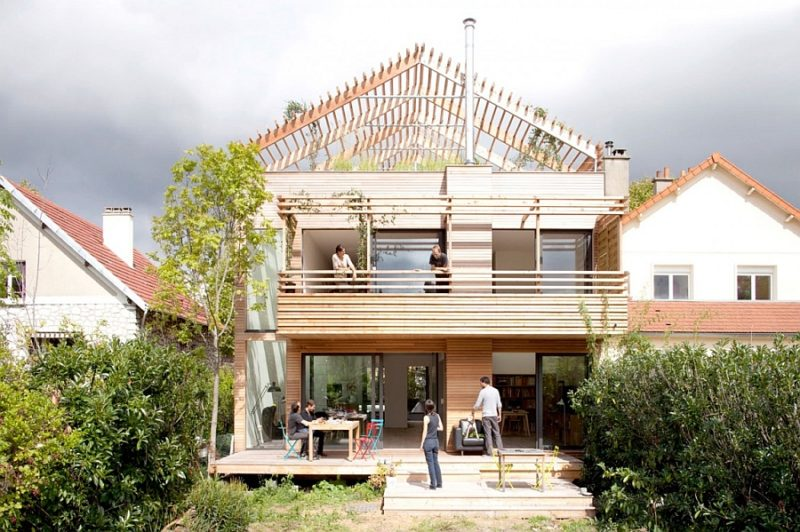 Nachhaltige Ökohaus