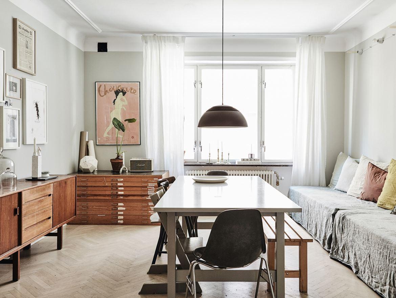 wohnen im atelierstil. Black Bedroom Furniture Sets. Home Design Ideas