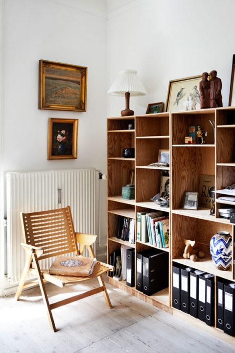Einfache Holzregale einrichten mit simplen holzregalen | sweet home