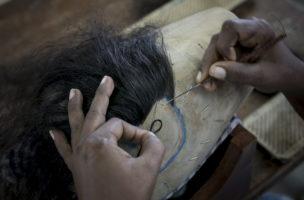 Haariges Handwerk