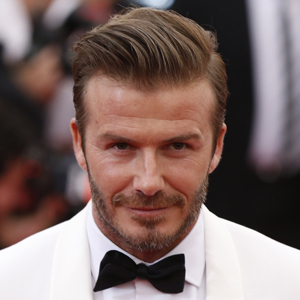"""Soccer star David Beckham arrives at the Metropolitan Museum of Art Costume Institute Gala Benefit celebrating the opening of """"Charles James: Beyond Fashion"""" in New York"""