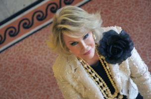 «Take away my show? Done!»: Die verstorbene Joan Rivers. (AFP/Valery Hache)