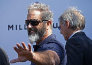 Zeitgemässe Art der Busse: Mel Gibson. Foto: Yves Herman (Reuters)