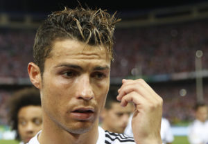 Ein einziger Hissy Fit: Cristiano Ronaldo. Foto: Juan Medina (Reuters)