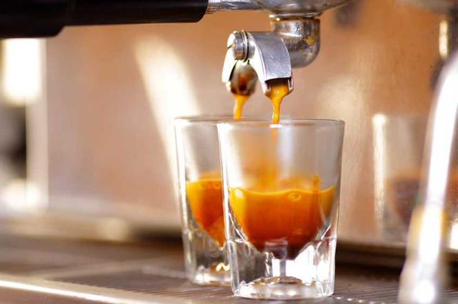Hochgenuss: Ein perfekter Espresso.