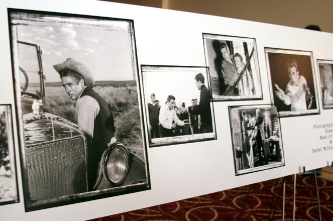 Für immer jung, für immer cool: Pressekonferenz zu James Deans 50. Jahrestag. Foto: Marsaili McGrath (Getty Images)