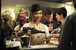 Gut ausgestattet: Emirates Airlines gewann 2014 die Silbermedaille ind er Kategorie Best Overall Wine Cellar. (Emirates Airlines)