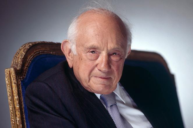Der deutsch-amerikanische Historiker Fritz Stern stellt am 26. September 2007 im Kaufleuten in Zuerich sein neuestes Buch