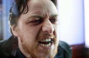 James McAvoy in «Drecksau». (Ascot Elite Filmverleih)