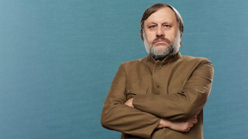 «Sowas wie das ökologische Gleichgewicht gibt es nicht»: Kulturkritiker Slavoj Žižek. Foto: istock / Montage: Raisa Durandi