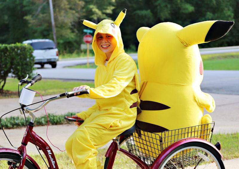 Nerviges aber harmloses Phänomen: Ein leidenschaftlicher Pokémon-Jäger. (Flickr/Jill Carlson)
