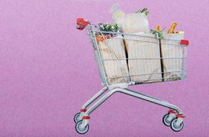 Nachhaltig und fair: Wenn der Staat als Moralanstalt den Einkaufswagen füllt. (Bild: Getty Images/Montage Nathalie Blaser)